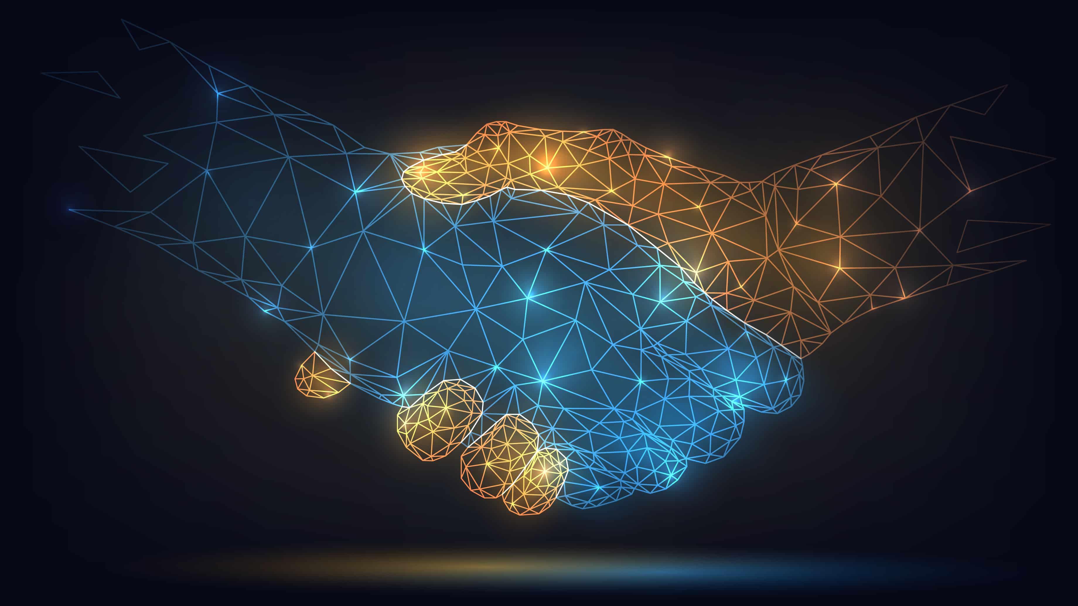 Digital hand shake image